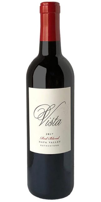 2017 VISTA RUTHERFORD RED BLEND