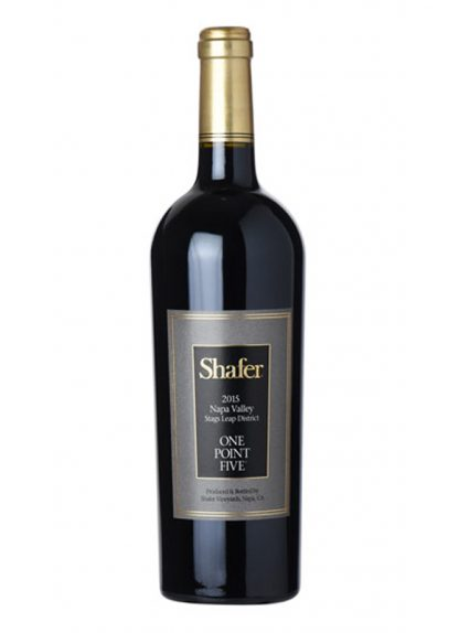"2015 SHAFER ""ONE POINT FIVE"" STAGS LEAP DISTRICT CABERNET SAUVIGNON"