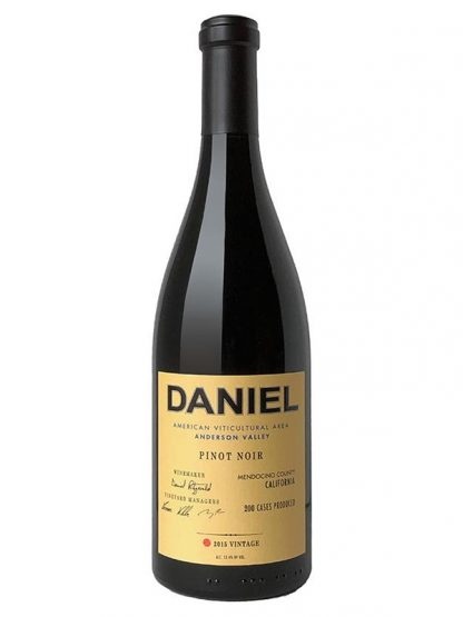 "2015 DANIEL ""ANDERSON VALLEY"" PINOT NOIR"