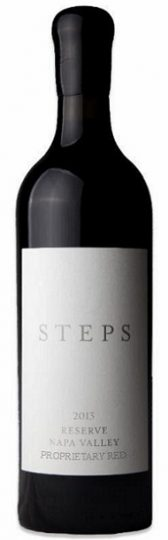 "2013 STEPS ""RESERVE"" PROPRIETARY RED, NAPA VALLEY"