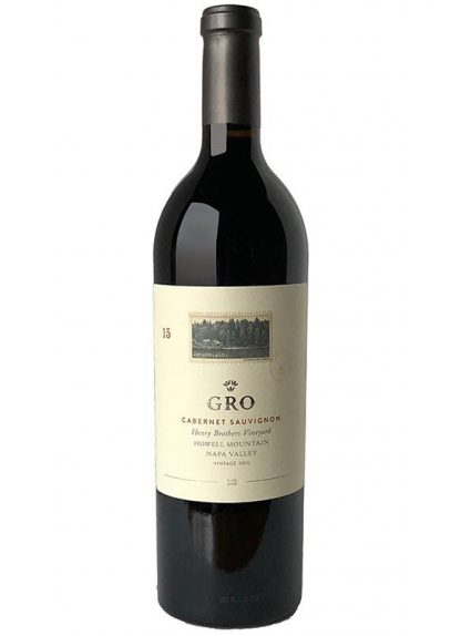 2015 GRO HENRY BROTHERS VINEYARD HOWELL MOUNTAIN CABERNET