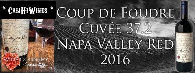 2016 COUP DE FOUDRE 37.2 CUVEE