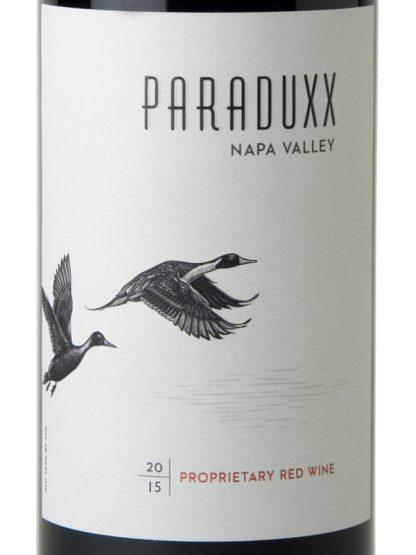 PARADUXX PROPRIETARY RED WINE NAPA VALLEY