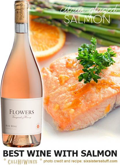 Best Wine with Salmon
