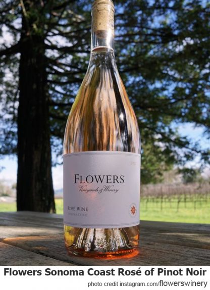 Flowers Sonoma Coast Rosé of Pinot Noir