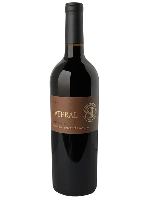 "2014 LATERAL ""NAPA VALLEY"" PROPRIETARY RED, MADE WITH ORGANIC GRAPES"