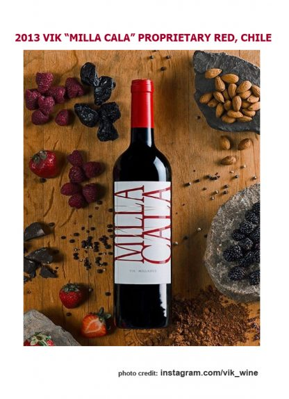 2013 VIK MILLA CALA PROPRIETARY RED CHILE