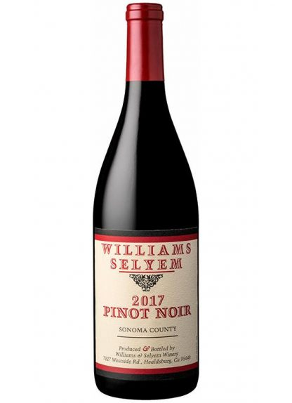 2017 WILLIAMS SELYEM SONOMA COUNTY PINOT NOIR 98 POINTS