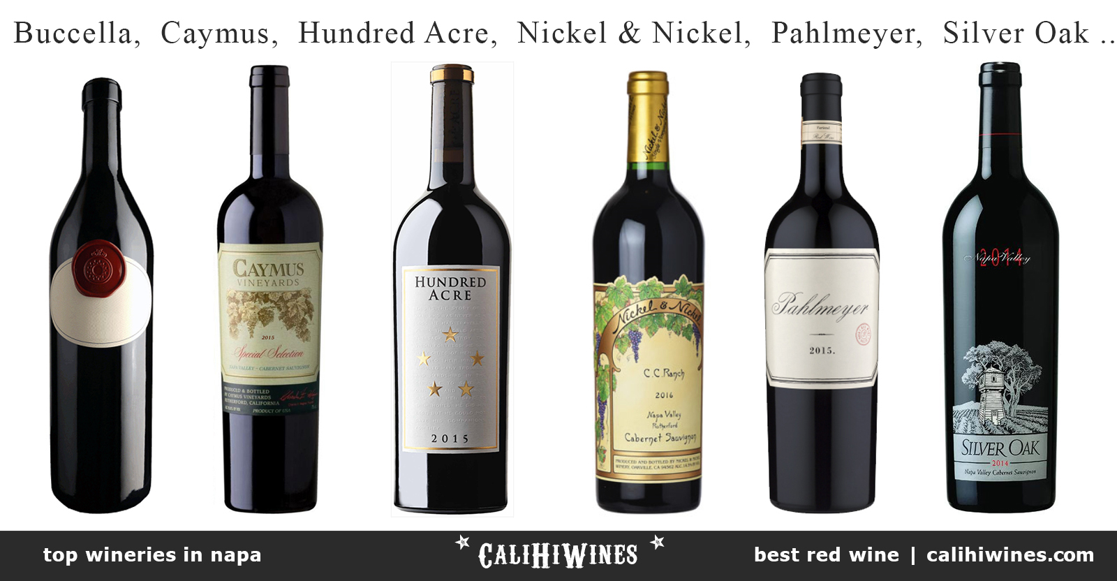 Weekly Recap Top Wineries in Napa