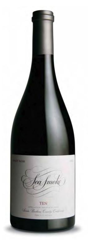 2008 Sea Smoke Cellars Ten Pinot Noir