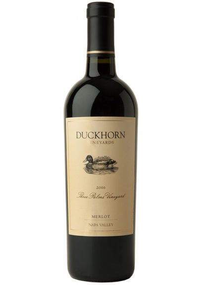 "2016 DUCKHORN ""THREE PALMS VINEYARD"" MERLOT"