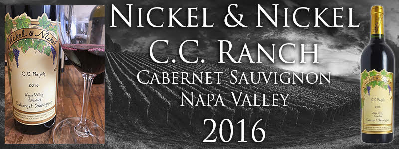2016 NICKEL & NICKEL C.C. RANCH CABERNET SAUVIGNON (RUTHERFORD)