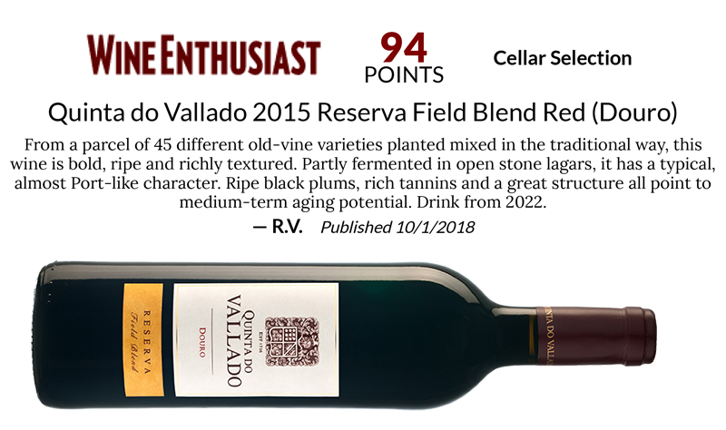 Quinta do Vallado 2015 Reserva Field Blend Red (Douro)