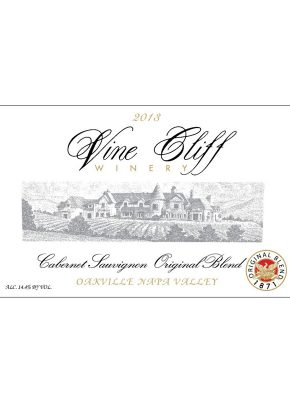 2013 VINE CLIFF OAKVILLE CABERNET ORIGINAL BLEND