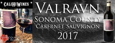 2017 VALRAVN SONOMA COUNTY CABERNET