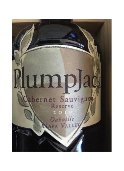 2010 Plumpjack Reserve Oakville Cabernet Sauvignon 99WA
