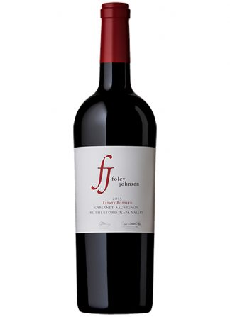 2013 FOLEY JOHNSON RUTHERFORD ESTATE CABERNET NAPA VALLEY