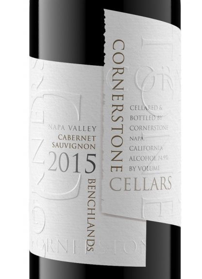2015 Cornerstone Benchlands Napa Valley Cabernet
