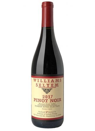 2017 WILLIAMS SELYEM RUSSIAN RIVER SELECTION PINOT NOIR