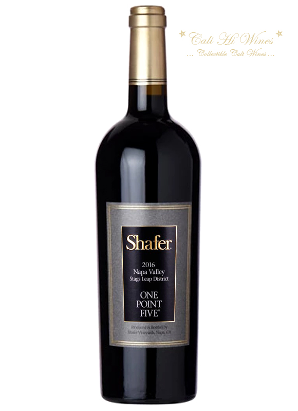 2016 SHAFER ONE POINT FIVE CABERNET STAGS LEAP DISTRICT NAPA VALLEY