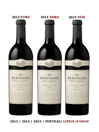 BERINGER PRIVATE RESERVE VERTICAL
