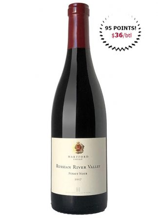 Hartford Pinot Noir rated 95 Points Jeb Dunnuck