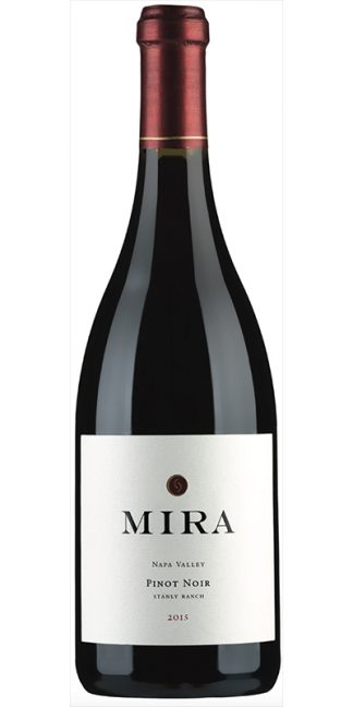 2015 MIRA STANLEY RANCH PINOT NOIR, CARNEROS NAPA VALLEY