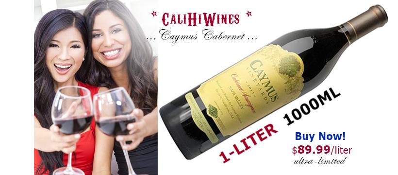 Caymus 1 Liter Cabernet Cult Wine