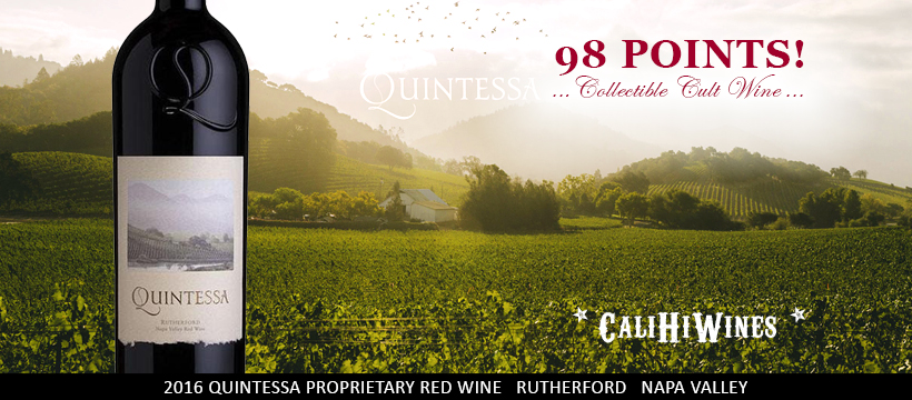 Quintessa 2016 Collectible Cult Wine