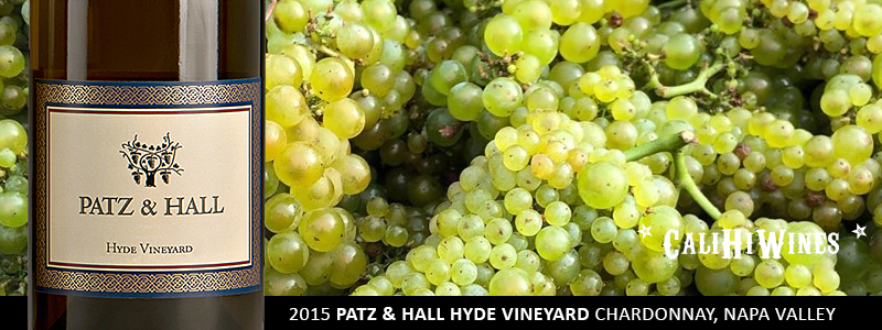 2015 PATZ & HALL HYDE VINEYARD CHARDONNAY NAPA VALLEY