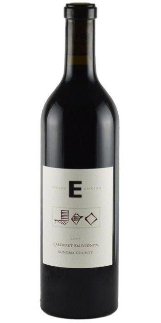 """2017 ENKIDU """"E"""" SONOMA COUNTY CABERNET SAUVIGNON"""