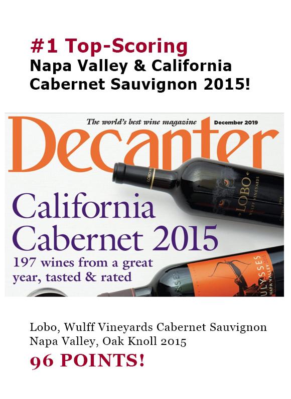 #1 Top-Scoring California Cabernet Sauvignon 2015