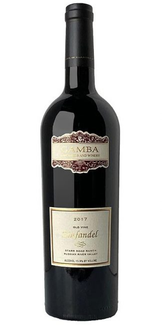 2017 GAMBA STARR ROAD RANCH ZINFANDEL