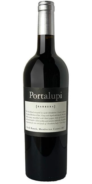 2017 PORTALUPI PAULI RANCH BARBERA