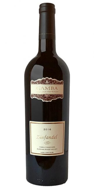 "2016 GAMBA ""FAMILY RANCHES"" ZINFANDEL"
