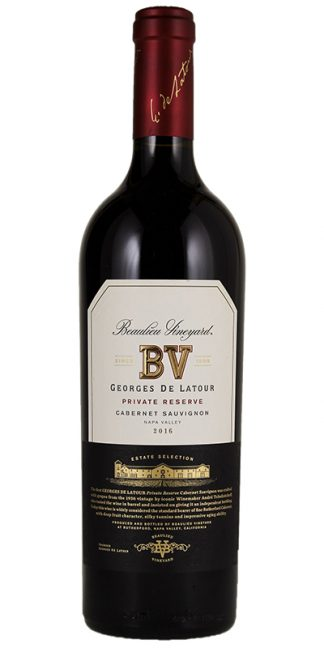 2016 BV GEORGES DE LATOUR PRIVATE RESERVE