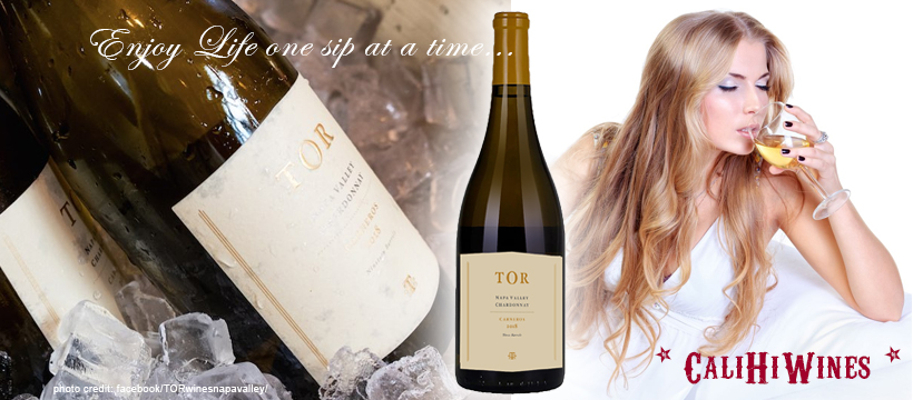 TOR Chardonnay Enjoy Life One Sip at a Time
