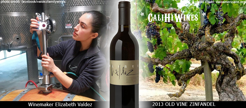 Valdez Old Vine Zinfandel