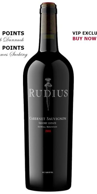 2014 RUDIUS SAVORY ESTATE HOWELL MOUNTAIN CABERNET SAUVIGNON