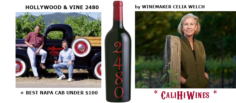 2015 HOLLYWOOD and VINE 2480 CABERNET