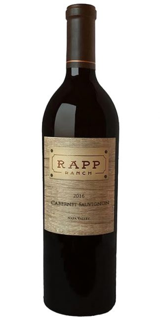 2016 RAPP RANCH NAPA VALLEY CABERNET SAUVIGNON
