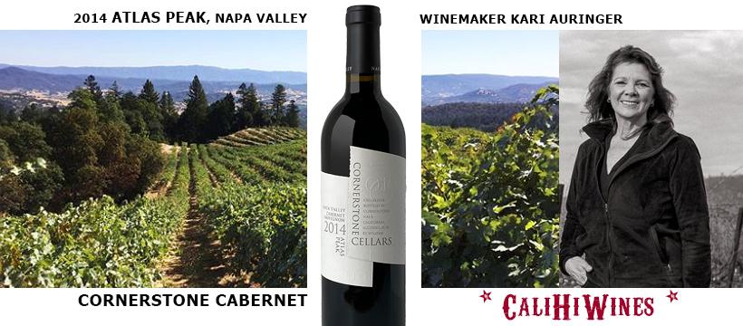 Atlas Peak Cabernet by Cornerstone Cellars Winemaker Kari Auringer