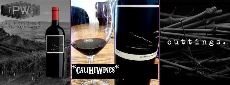 """2017 PRISONER WINE CO. """"CUTTINGS"""" CABERNET SAUVIGNON"""
