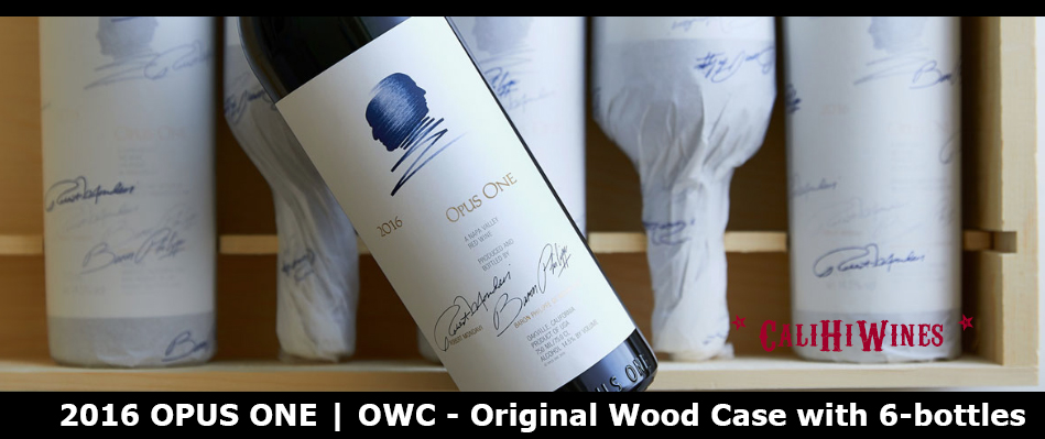 Opus One 2016 CaliHiWines Cult Wines