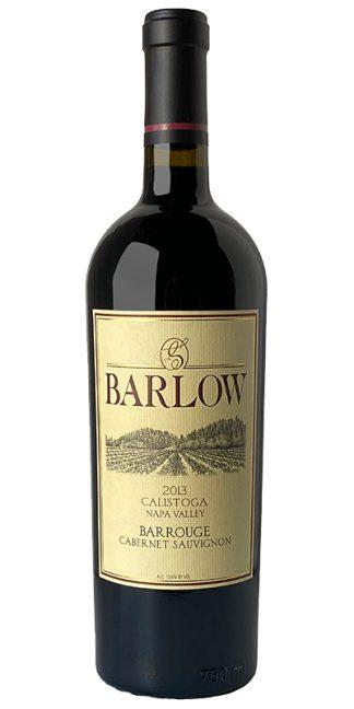 2013 BARLOW BARROUGE NAPA VALLEY CABERNET SAUVIGNON