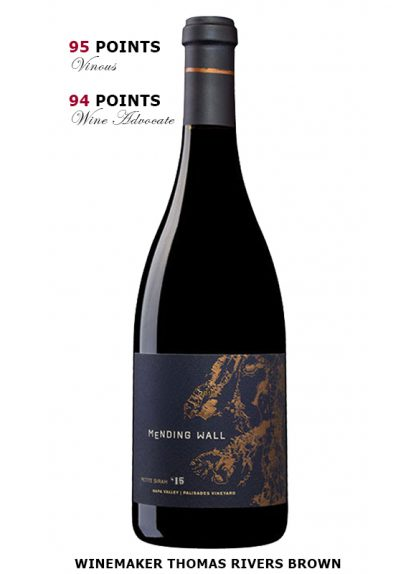 2015 MENDING WALL PALISADES VINEYARD PETITE SIRAH, NAPA VALLEY