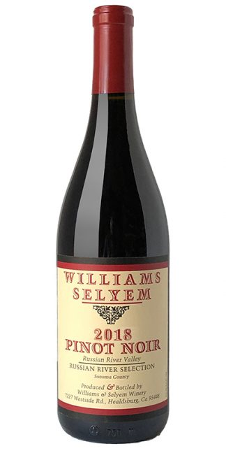 "2018 WILLIAMS SELYEM ""RUSSIAN RIVER SELECTION"" PINOT NOIR"
