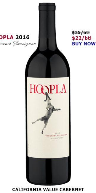 2016 HOOPLA CABERNET SAUVIGNON CALIFORNIA BLEND