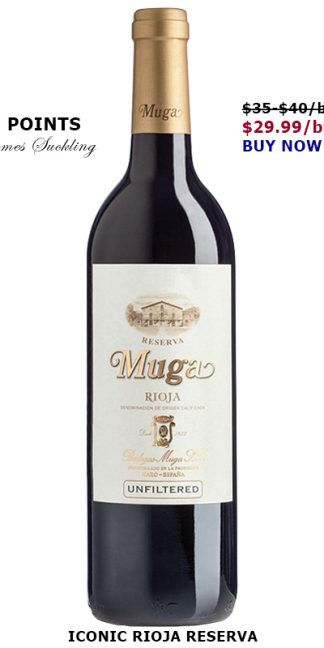 ICONIC 2016 MUGA RIOJA RESERVA | 95 POINTS!