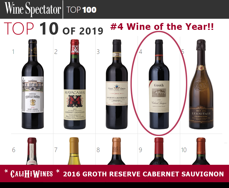 #4 Wine in the World WINE SPECTATOR TOP 100 OF 2019